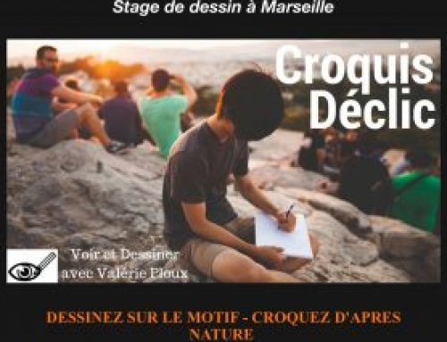 3 Bonnes raison de participer au stage Croquis Déclic !