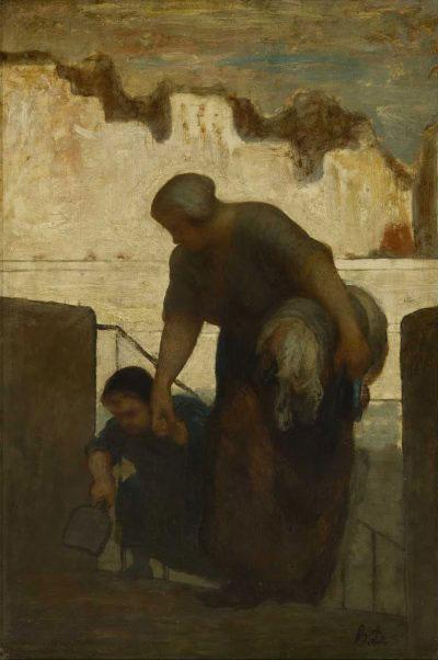 La blanchisseuse de Honoré Daumier – Musée d'Orsay