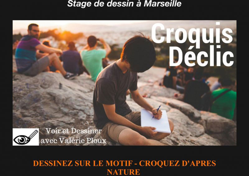 Atelier dessin Marseille - Stage Croquis Déclic