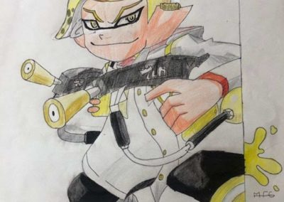 dessin splatoon