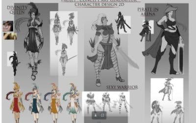 Cours de dessin : entre BD-manga et concept art