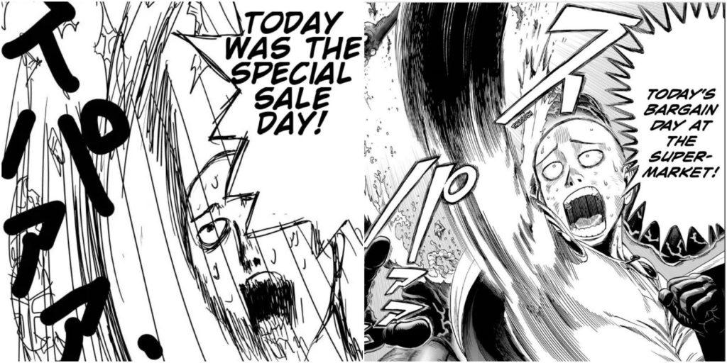 comparaison entre le webcomic et le manga One Punch Man