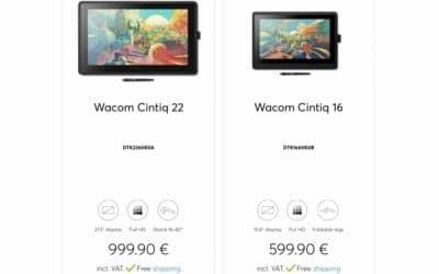 Informations pour achat de tablettes graphiques